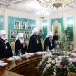 Заседание Священного Синода Русской Православной Церкви началось с минуты молчания по жертвам теракта в Ницце