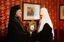 Состоялась встреча Святейшего Патриарх Кирилла с представителями Константинопольского Патриархата