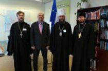 Управляющий делами Украинской Православной Церкви провел встречи в Совете Европы