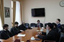 Состоялось заседание рабочей группы по академическому сотрудничеству между Русской Православной Церковью и Коптской Церковью