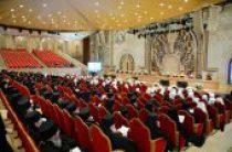 Митрополит Волоколамский Иларион рассказал участникам Архиерейского Собора о работе над новыми учебными пособиями для духовных школ