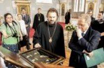 Состоялась встреча архиепископа Петергофского Амвросия и директора Эрмитажа Михаила Пиотровского