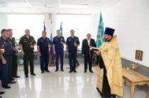 Руководитель Синодального отдела по взаимодействию с Вооруженными силами освятил служебные помещения Главкомата Воздушно-космических сил
