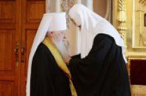 В день памяти преподобного Сергия Радонежского Святейший Патриарх Кирилл вручил высокие церковные награды ряду архиереев и мирян