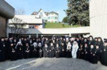 22-27 января Святейший Патриарх Кирилл посетил Швейцарию для участия в Собрании Предстоятелей Поместных Православных Церквей в Шамбези