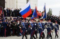 Cвятейший Патриарх Кирилл обратился к участникам смотра-парада Всевеликого войска Донского