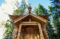 На Валааме восстановлена историческая часовня преподобного Сергия Радонежского