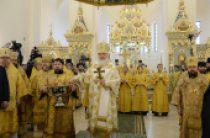 В Неделю о Страшном Суде Святейший Патриарх Кирилл совершил освящение храма св. Александра Невского при МГИМО