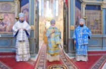 Патриарший экзарх всея Беларуси возглавил торжества по случаю праздника Казанской иконы Божией Матери в Вологодской митрополии