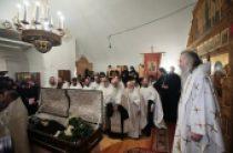 В Заиконоспасском ставропигиальном монастыре состоялось отпевание наместника обители архимандрита Петра (Афанасьева)