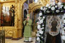 В день преставления преподобного Сергия Радонежского Предстоятель Русской Православной Церкви возглавил торжества в Троице-Сергиевой лавре