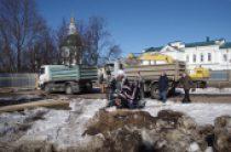 Началось восстановление Успенского собора Саровской пустыни