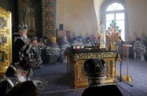 В Великий Понедельник Святейший Патриарх Кирилл совершил Литургию в Богородице-Рождественском ставропигиальном монастыре
