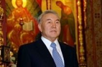 Святейший Патриарх Кирилл поздравил Президента Республики Казахстан Н.А. Назарбаева с 75-летием со дня рождения