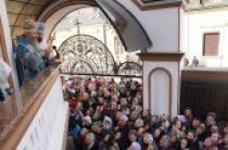Предстоятель Украинской Православной Церкви возглавил престольный праздник Введенского монастыря в Черновцах