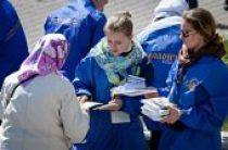Более 500 молодых добровольцев помогали в организации поклонения деснице святого великомученика Георгия Победоносца в Москве