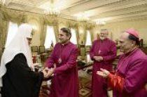 Святейший Патриарх Кирилл принял делегацию Англиканской Церкви в Северной Америке
