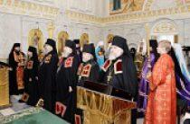 Состоялось наречение архимандрита Пармена (Щипелева) во епископа Чистопольского и Нижнекамского, архимандрита Сергия (Зятькова) во епископа Вяземского и Гагаринского и архимандрита Серапиона (Дуная) во епископа Бийского и Белокурихинского