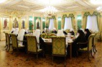 Завершилось первое в 2015 году заседание Священного Синода Русской Православной Церкви