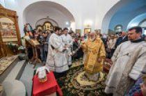 Патриарший экзарх всея Беларуси освятил храм Новомучеников и исповедников Церкви Русской в Новосибирске