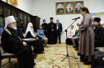 Святейший Патриарх Кирилл встретился с победителями конкурса «Православная инициатива» от Белорусского экзархата