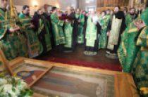 Торжества по случаю 400-летия преставления преподобного Иринарха Затворника прошли в Ростовском Борисоглебском монастыре