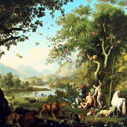 Жизнь и грехопадение первых людей в раю