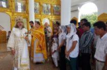В Камбодже освящен храм в честь великомученика и целителя Пантелеимона