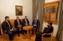 Председатель ОВЦС встретился с египетскими парламентариями
