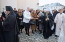 Предстоятель Украинской Православной Церкви совершил Литургию в Свято-Успенской Почаевской лавре