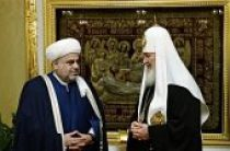 Состоялась встреча Святейшего Патриарха Кирилла с председателем Управления мусульман Кавказа шейх-уль-исламом Аллахшукюром Паша-заде
