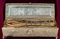 Волгоград встречает афонскую святыню — мощи святого Георгия Победоносца