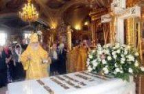 В 25-ю годовщину избрания приснопамятного Святейшего Патриарха Алексия II на Московский Патриарший престол состоялось заупокойное богослужение у гробницы пятнадцатого Предстоятеля Русской Церкви