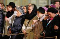 На девятый день после авиакатастрофы в Египте в Исаакиевском соборе Санкт-Петербурга состоялось заупокойное богослужение