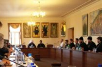 Митрополит Волоколамский Иларион выступил перед слушателями курсов повышения квалификации для епархиальных делопроизводителей и архивистов
