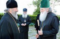 На торжества в честь 1150-летия Крещения Болгарии прибыл Блаженнейший митрополит Киевский и всея Украины Онуфрий