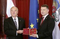 Митрополит Рижский Александр принял участие в торжественном мероприятии по случаю инаугурации нового Президента Латвийской Республики