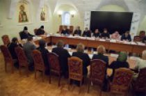 Состоялось заседание Межведомственной рабочей группы для изучения и выработки подходов к формированию учебных пособий для воскресных школ