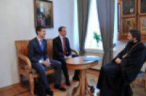 Митрополит Волоколамский Иларион встретился с главой Российско-Германской конференции молодых лидеров герцогом Кристофом Ольденбургским