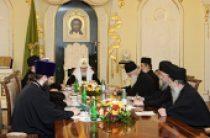 Предстоятель Русской Церкви принял членов Комиссии по подготовке празднования 1000-летия русского монашеского присутствия на Святой Горе Афон
