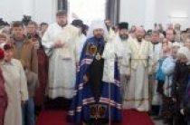 Митрополит Волоколамский Иларион возглавил торжества по случаю великого освящения храма Двенадцати апостолов в Нарве