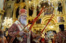 Во вторник Светлой седмицы Святейший Патриарх Кирилл совершил Литургию в Троице-Сергиевой лавре и возглавил хиротонию архимандрита Арсения (Перевалова) во епископа Юрьевского