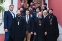 В Общецерковной аспирантуре завершились курсы повышения квалификации для руководителей епархиальных отделов по религиозному образованию и катехизации