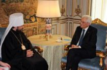 Митрополит Волоколамский Иларион встретился с Президентом Италии С. Маттареллой