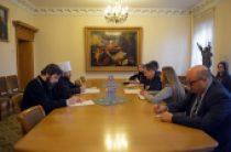 Председатель ОВЦС встретился с министром иностранных дел Сербии И. Дачичем