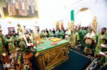 Предстоятель Украинской Православной Церкви возглавил первое празднование в честь Собора Винницких святых