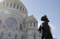 В Кронштадте состоялось открытие памятника святому праведному воину Феодору Ушакову
