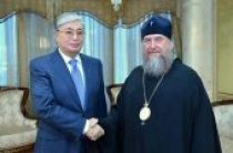Состоялась встреча митрополита Астанайского и Казахстанского Александра с председателем Сената Парламента Республики Казахстан