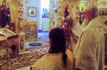 В день памяти святителя Николая Чудотворца Предстоятель Русской Церкви совершил Литургию в домовом храме Патриаршей резиденции в Переделкине