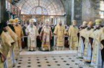 В день памяти новомучеников и исповедников Церкви Русской Блаженнейший митрополит Онуфрий совершил Литургию в Киево-Печерской лавре